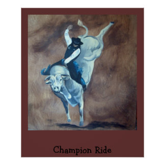 Champion Ride Poster