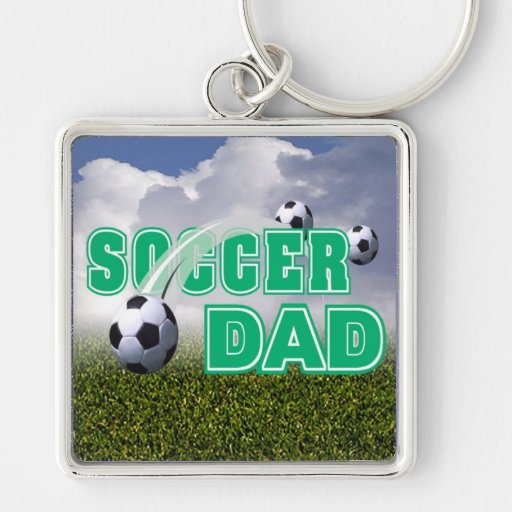 Champion - Soccer Dad Keychain