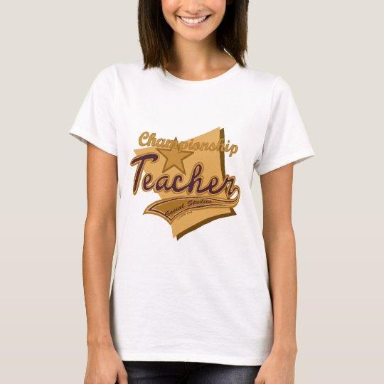 Champion Social Studies Teacher T-Shirt