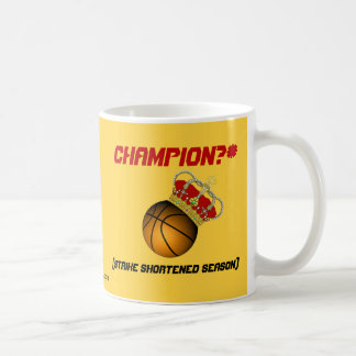 Champion? (strike shortened season) coffee mug