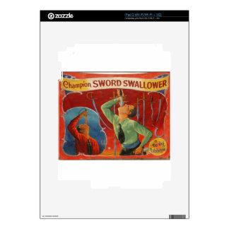 Champion Sword Swallower iPad 2 Skin