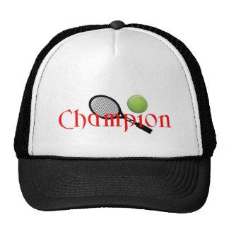 CHAMPION TENNINS PLAYER TRUCKER HAT