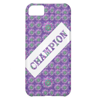CHAMPION Text Case For iPhone 5C