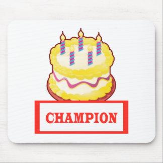CHAMPION Text Mousepads