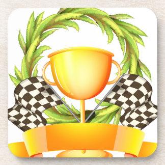 Champion Trophy Drink Coaster
