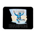 Champion Vinyl Magnet