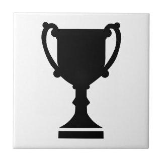Champion winner cup tile