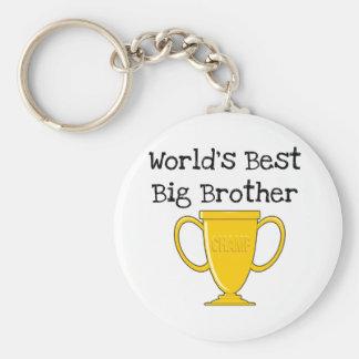 Champion World's Best Big Brother Basic Round Button Keychain