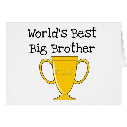 Champion World's Best Big Brother Card
