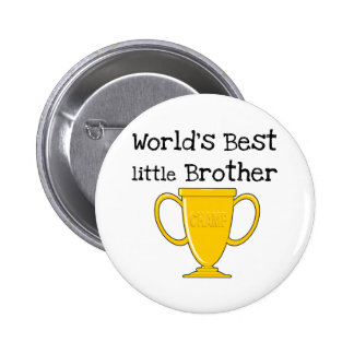Champion World's Best Little Brother Pinback Button