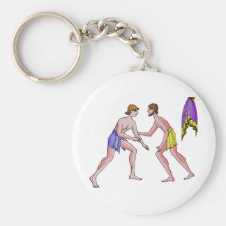 Champion wrestler 396 BC Keychain