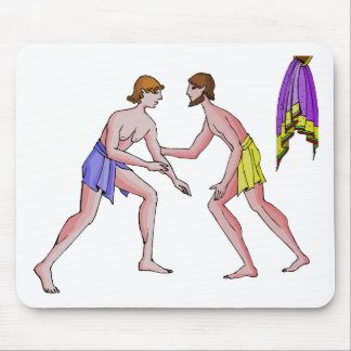 Champion wrestler 396 BC Mouse Pads