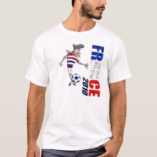Championnat d'Europe de football 2012 France Flag T-Shirt