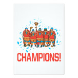 Champions 5x7 Paper Invitation Card