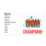 Champions Double-Sided Standard Business Cards (Pack Of 100)