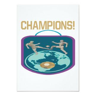Champions Card