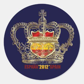 Champions España 2012 Spain reyes de Europa Europe Sticker