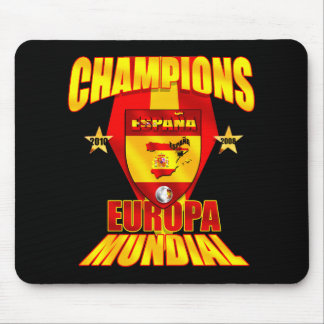 Champions Europa 2008 Mundial 2010 Mouse Pad