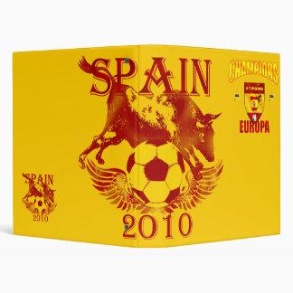 Champions Europa Spain gear for España fans 3 Ring Binder