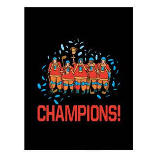 Champions Postcard