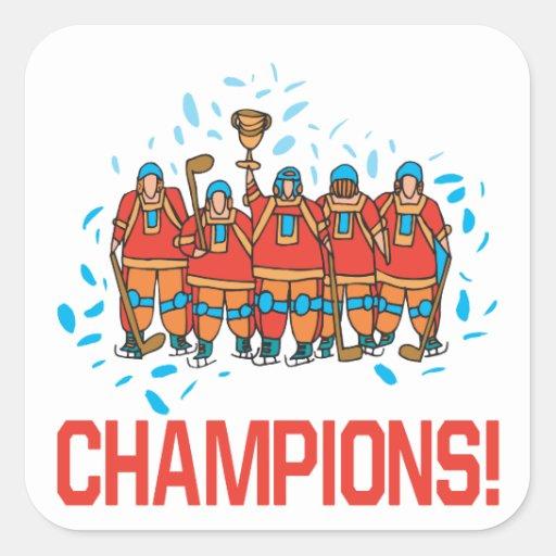 Champions Square Sticker