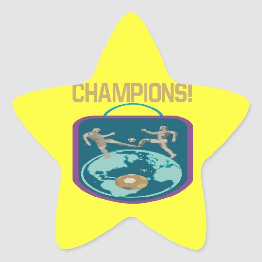 Champions Star Sticker