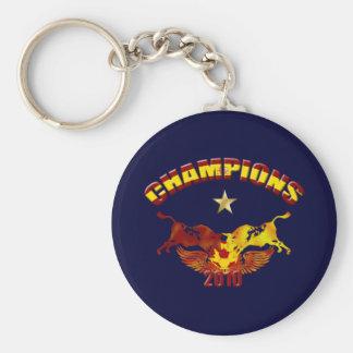 Champions toro Spanish bulls 2010 Keychain