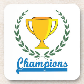 Champions Trophy Coaster