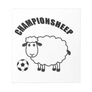 championsheep notepad