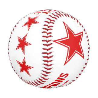 Championship Allstars Personalized Keepsake Baseball