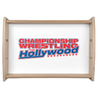 Championship Wrestling From Hollywood - Basic Serving Trays