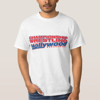 Championship Wrestling From Hollywood - Logo Tee Shirt