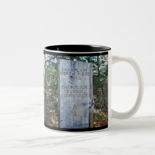 Champlain Mountain Trailmarker Mug - 1