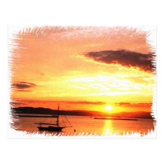 Champlain Sunset Postcard