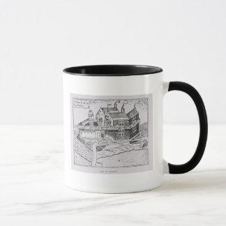 Champlain's View of Quebec Mug