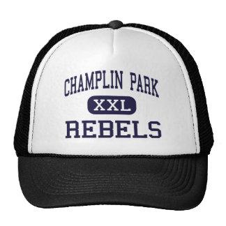 Champlin Park - Rebels - High - Champlin Minnesota Trucker Hat