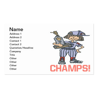 Champs Business Card