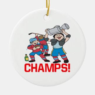 Champs Ceramic Ornament