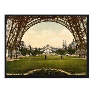Champs de Mars, Exposition Universal, 1900, Paris, Postcard