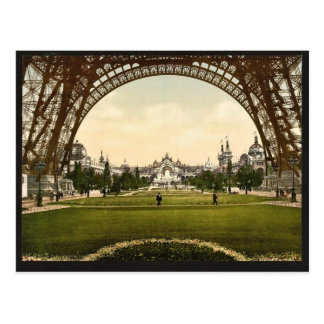 Champs de Marte, exposición Universal, 1900, Tarjeta Postal