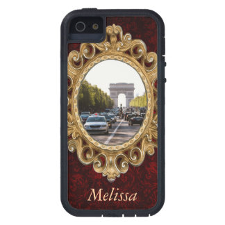 Champs Elysees and The Arc De Triomphe Case For iPhone SE/5/5s