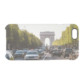 Champs Elysees and The Arc De Triomphe Clear iPhone 6/6S Case