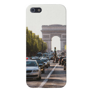 Champs Elysees and The Arc De Triomphe Cover For iPhone SE/5/5s