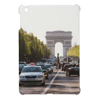Champs Elysees and The Arc De Triomphe iPad Mini Case