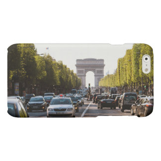 Champs Elysees and The Arc De Triomphe Matte iPhone 6 Case