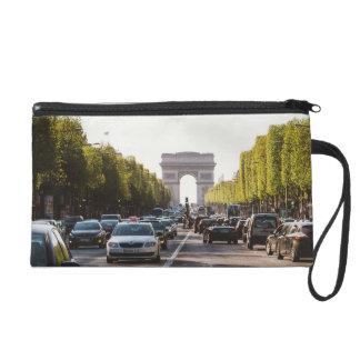 Champs Elysees and The Arc De Triomphe Wristlet