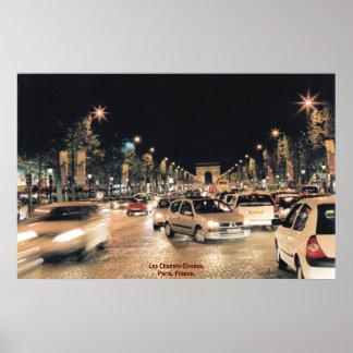 Champs Elysées de Les.  París, Francia Impresiones