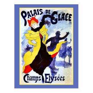 Champs Elysées de Palais de Glace Postal