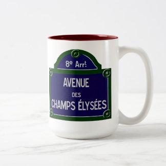 Champs elysees Mug