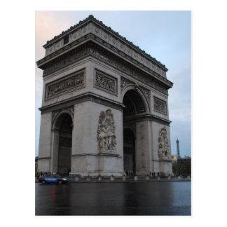 Champs-Élysées - Paris, France Postcard